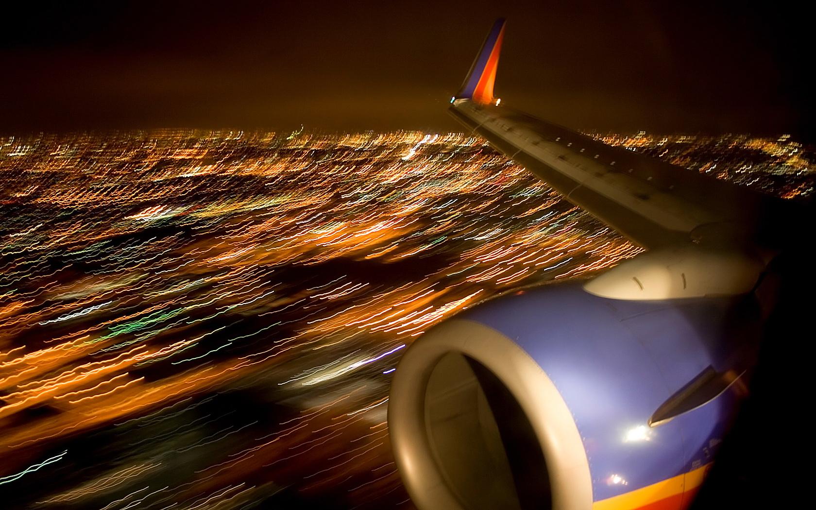 Landing in Los Angeles